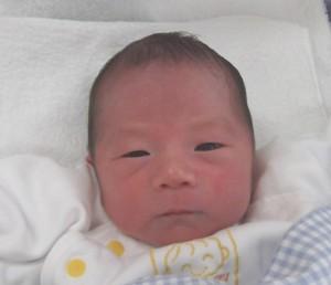 2016年7月3日生まれ 駿汰くん
