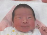 2016年6月28日生まれ 碧唯ちゃん