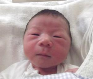 2016年9月11日生まれ 孝樹くん