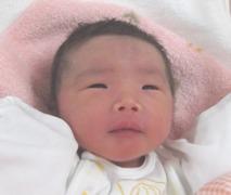 2016年5月18日生まれ 遥希ちゃん