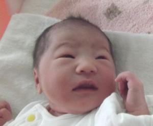 2016年12月18日生まれ 咲花ちゃん