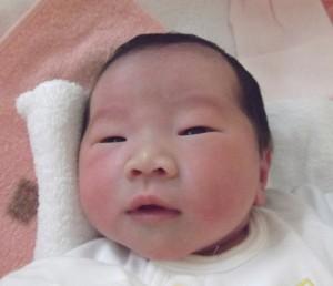 2016年11月28日生まれ 澪奈ちゃん