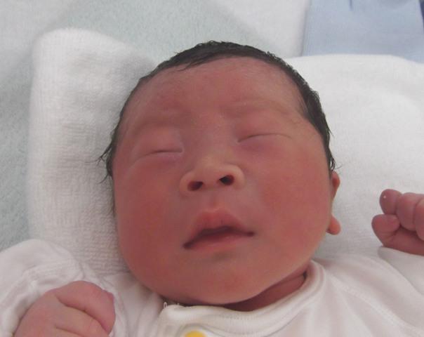 2017年8月29日生まれ大仁郎くん