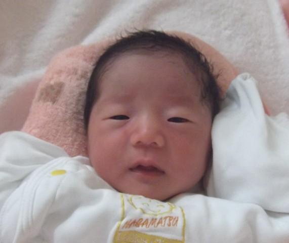 2017年7月17日生まれ結菜ちゃん