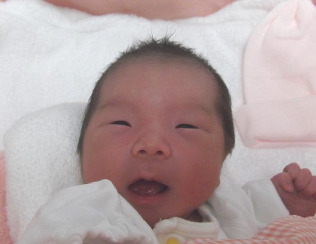 2017年9月12日生まれ琉愛ちゃん