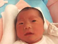 2017年9月30日生まれ 陽茉莉ちゃん
