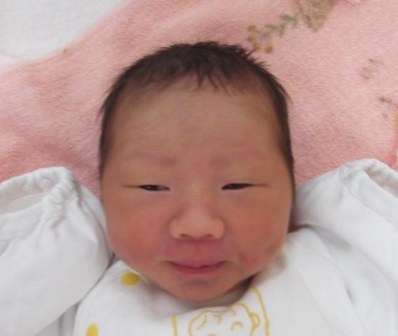 2017年9月2日生まれ奈未ちゃん