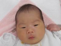 2017年9月1日生まれ 瑠夏ちゃん