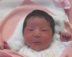 2017年10月17日生まれ 千雛ちゃん