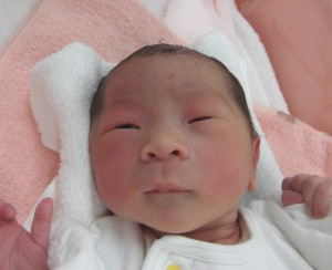 2017年11月7日生まれ 美陽ちゃん