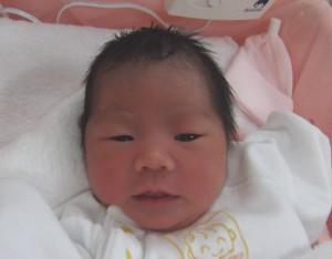 2017年12月9日生まれ 彩永ちゃん