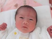 2018年1月21日生まれ 優奈ちゃん
