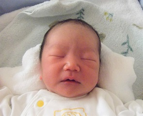 2018年2月9日生まれ 颯紀くん
