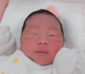 2018年5月8日生まれ 莉瑚ちゃん