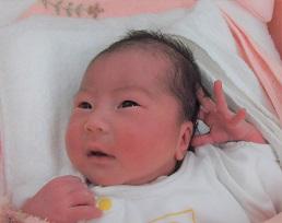 2018年7月30日生まれ 莉里花ちゃん